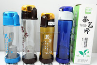 plastic drinking water bottle for outdoor travellers bpa free water bottle