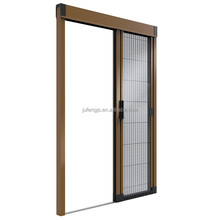 Window&Door type trackless screen door mosquito netting retractable door