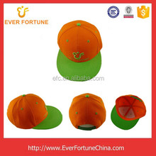 Fashionable custom baseball cap and snapback hats by embroidery machine