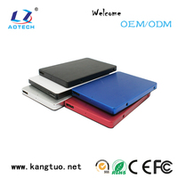 Quality and quantity assured 2.5 inch sata hard drive enclosure