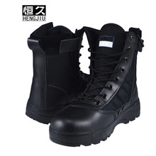 Free Sample Men's Classic High Ankle Tactical Combat Military Boot