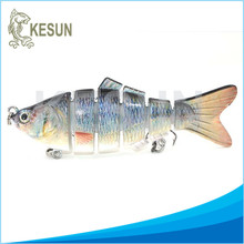 Factory price hard plastic jointed fishing lure
