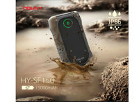 Houny 15000mAh Power Bank Water resistant, Dustproof and Shockproof Portable Charger for Cell Phone