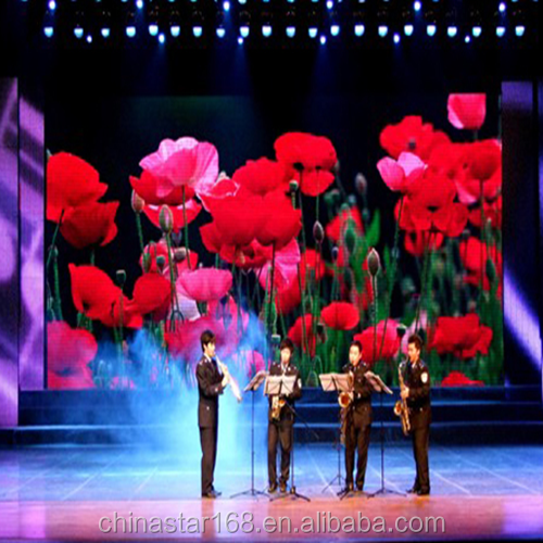 SMD stage rental p5 5mm indoor full color led video display screen for lease