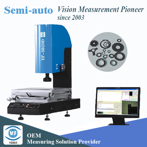for Gasket semi-auto 2.5d machine vision system in metrology