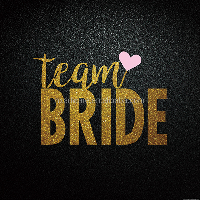 Gold bride tribe team tattoo for hens party