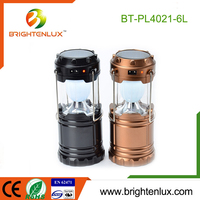 Factory Wholesale 3*AA Battery Powered Best 180 lumen ABS Plastic Rechargeable 3W led Solar Camping Lantern