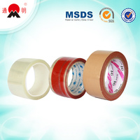clear red brown adhesive packaging reinforced paper tape china oem