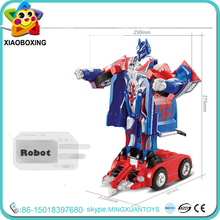 China Manufacturer kids toy plastic battery operated intelligent robot car toys