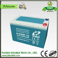 High power sealed maintenance free electric bike battery 36v 12ah