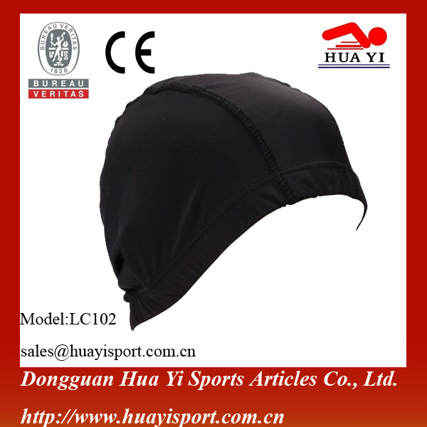 Waterproof nylon durable college swimming caps