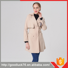 Classic Lady Elegant Long Woolen Jackets Long-Sleeved Hooded Cloak