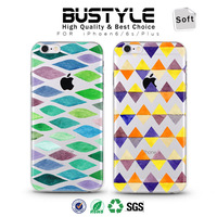3D Geometric pop Style Soft TPU Mobile Phone Case For Apple iPhone 4 5s 5c 6 6s plus
