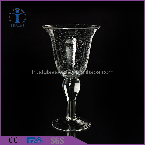 Wholesale Factory Wedding Home High Quality Personalized Heavy Bubble Custom Wine Glass
