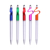 Promotional nice design 3 in1 pen fancy pen holder with twist action function stationery