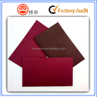 Top quality iridescent paper envelope businees envelope