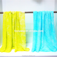 Spring Autumn Dip Dye Women Soft