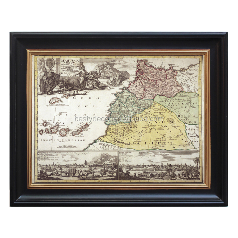 European Style Old Painting Picture Wooden Frame For Decoration ...