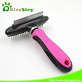 2 in 1 faded hair and massage dog brush, dog brush for shedding for aLL sizes of pets with long and short hair