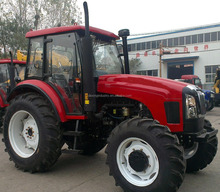 CE Approved Lutong 1304 130hp 4wd agricultural farm wheel tractor for sale