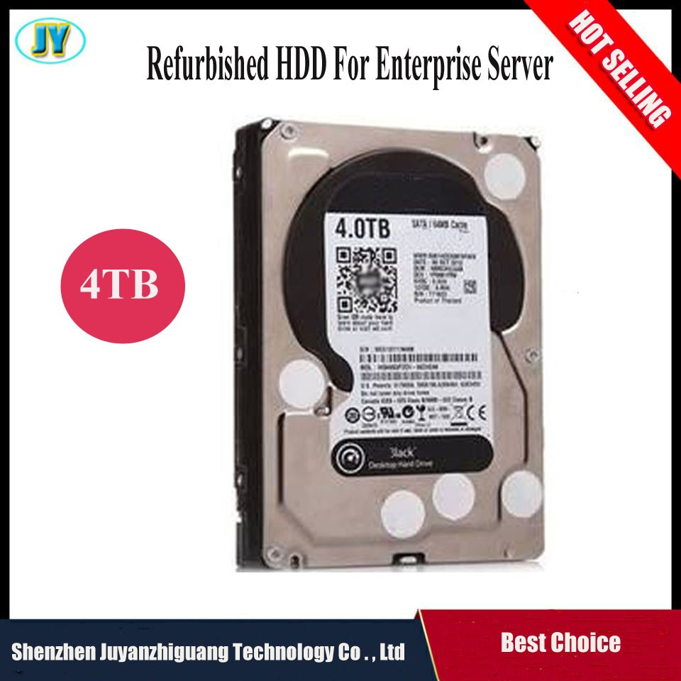 [Hot selling] Brand HDD 3.5inch 7200rpm cheap used hard disk internal harddisk 4TB for Server