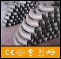 high quality 45/90/22.5/180 degree seamless Q235/a106/a234wpb 5d carbon steel pipe elbow\/bend