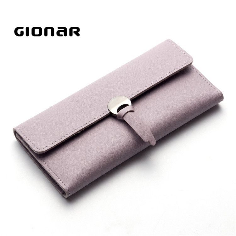 2017 Korean Style Women PU Material Personalized Leather Wallet