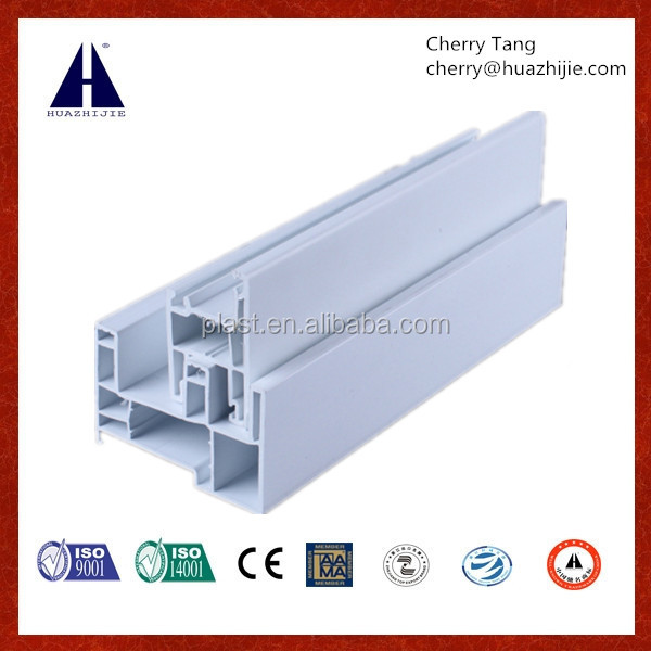 Anti UV high quality pvc profile for window and door.