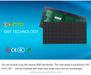 Green waterproof module P10 SMD led sign panel Led Display Screen