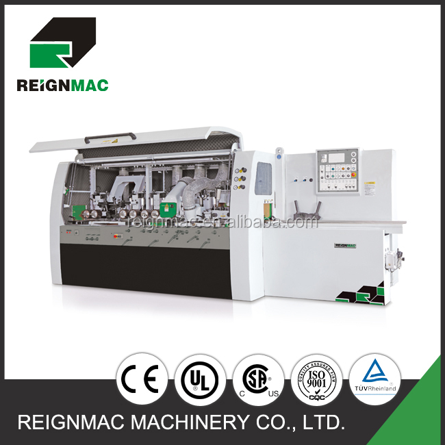 Moulding machine for flooring four side moulder planer machine