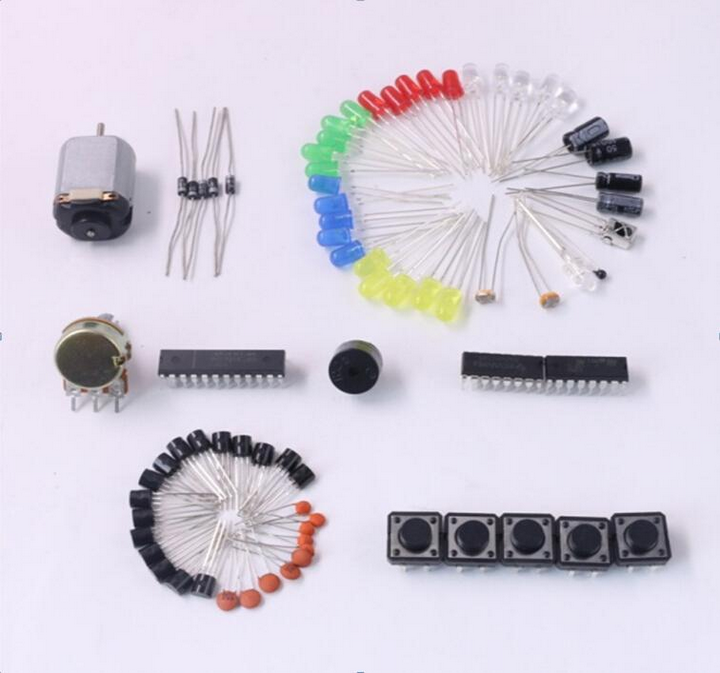 Electronics Fans Package Starter Kit for Uno with Retail Box DIY Kit LED Capacitor 74HC595N 1N4001 BC547