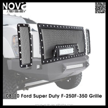 Black Stailless Steel Wire Mesh Grille for 09-14 Ford F150