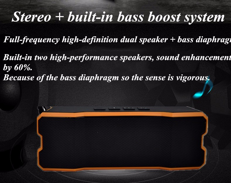 Bluetooth Speaker BT 801 Shenzhen Wireless Portable Stereo Tablet New Pc Bass Smartphone Super