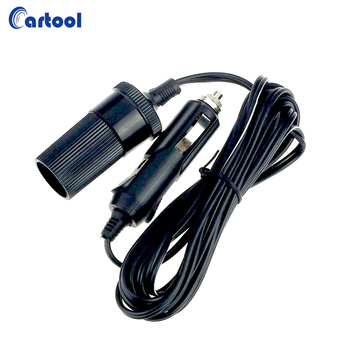 12V 10A Car Cigarette Lighter Socket Extension Cord Cable