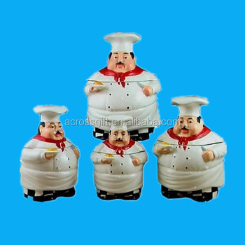 fat chef unique colorful kitchen canister sets for sale decorative kitchen canisters sets decor love