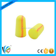TV ears hearing protection bell shape earplugs, PU foam earplugs