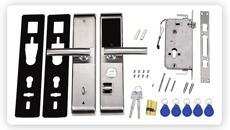 European CE Approval Multi-ponit Fingerprint Lock with Acrylic Touch Screen