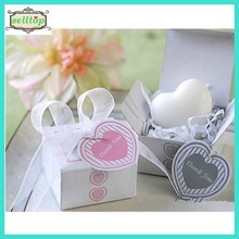 Cheap heart shape soap for cheap wedding gift for guest
