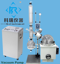 20L Capacity china rotary evaporator price with vacuum pump (Explosion proof Rotovap optional)