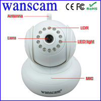 New web page view ip camera p2p high definition 720p HD support 32GB TF card IR CUT recording online ip camera
