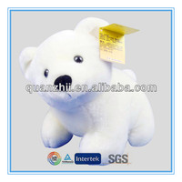 White christmas teddy bear plush toy