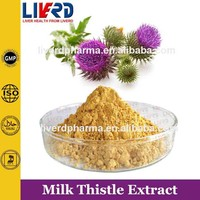 Herbal Natural Plant 80% UV Milk Thistle Seed Extract