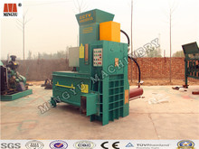 low petrol consumption small cake rice husk powder hydraulic cylinder power compressing balling machinery for biomass generation