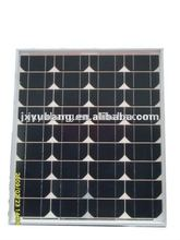 Direct sale factory price high efficiency jiaxing winbright CE YB125M36-40W 12V mono solar panel pv panel