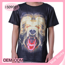 Lion Cartoon Character t-shirt 3D printed casual O neck short tshirt summer tops unisex tee latest formal shirt designs for men