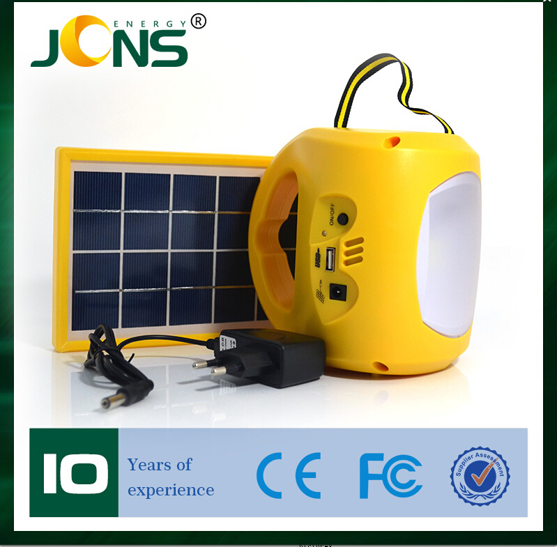 Newest solar LED lantern luces camping lantern with Phone charge