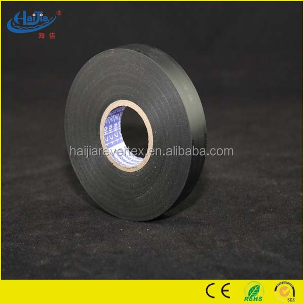 China factory wholesale price adhesive black PVC insulating electrical Tape