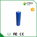 Rechargeable LiFePO4 IFR14500 3.2V 500mAh battery