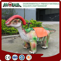 Artificial dinosaur type electric animal toy car for kids
