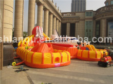 Large Inflatable Skycity giant inflatable castle for sale